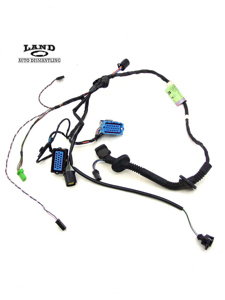 jaguar x308 xjr passenger  right rear door panel wire wiring harness connectors